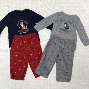 Set of 2 size 12 months infant PJ's